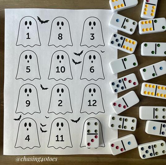 Ghost Domino Match