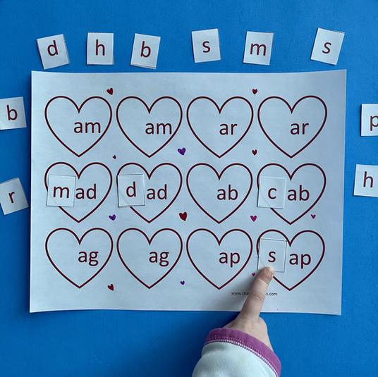 Heart CVC Words