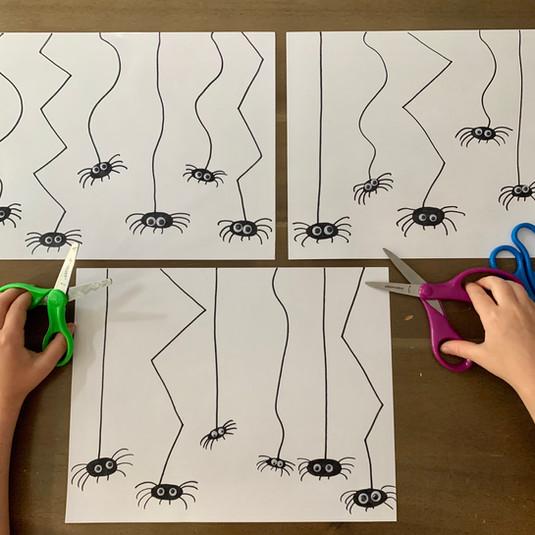 Spider Scissor Skills