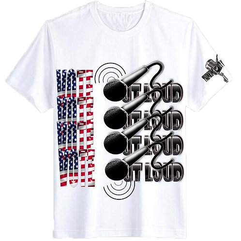 VOTE OUT LOUD LIMITED EDITION TEE-SHIRT