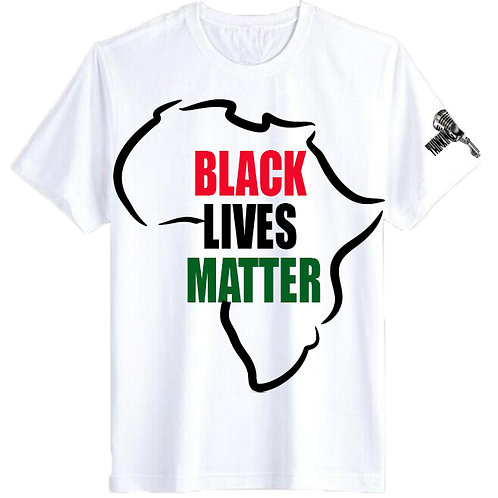 BLACK LIVES MATTER  LIMTED EDITION TEE-SHIRT