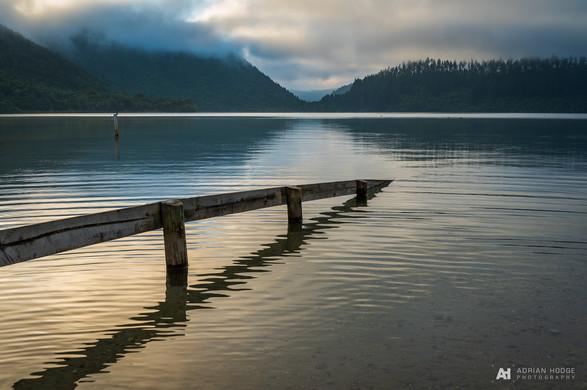 Adrian Hodge   Blue Lake, Rotorua