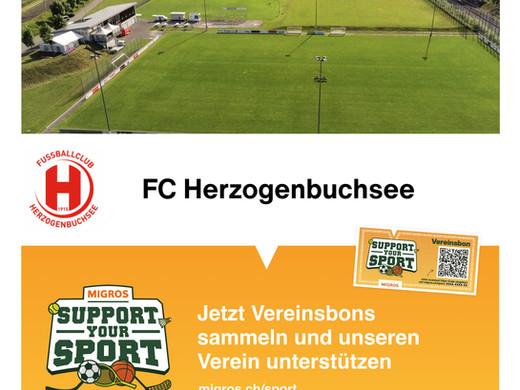 Unterstütze den FC Buchsi