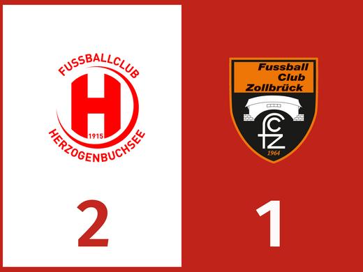 Sieg im Spitzenspiel gegen den FC Zollbrück