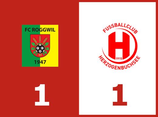 Punkteteilung im Derby gegen den FC Roggwil