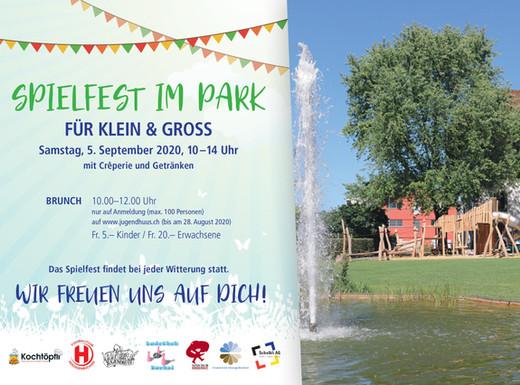 Spielfest im Gemeindepark