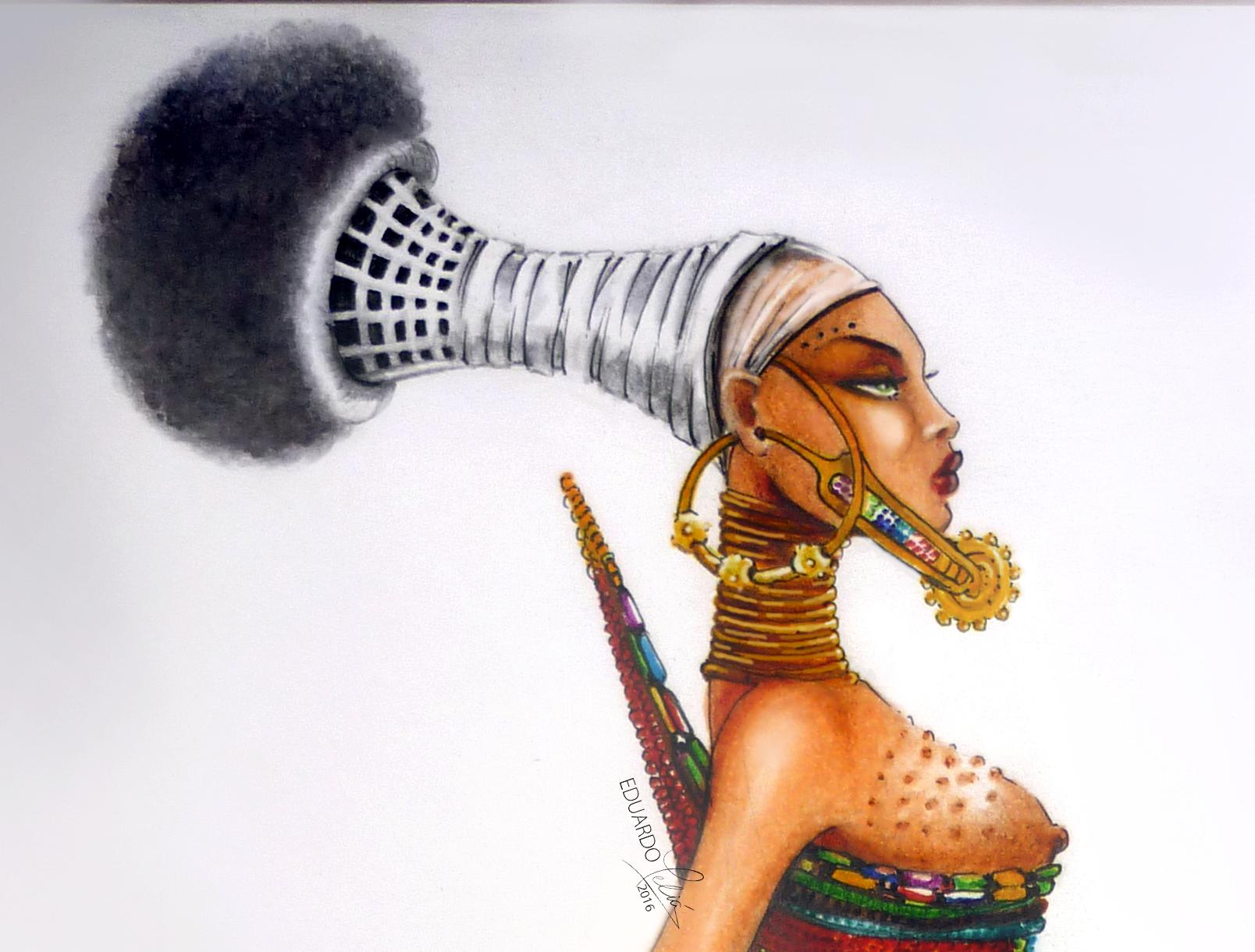 AFRIKNA (detalle)