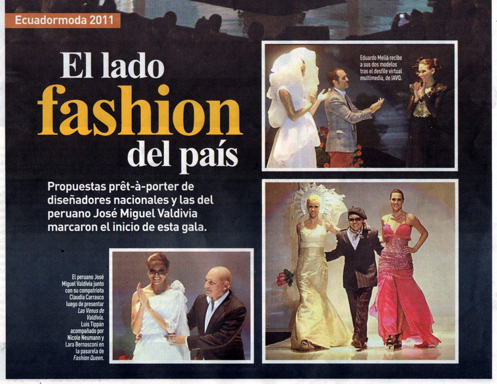 Editorial Primer Desfile Virtual