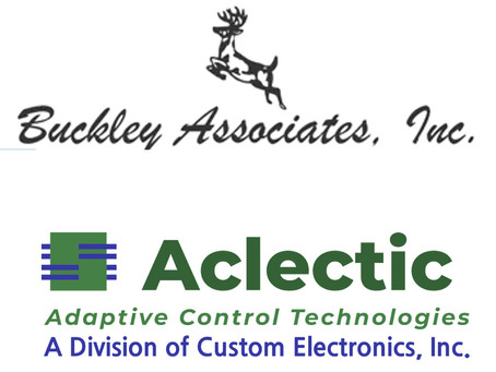 New Sales Rep Relationship with Buckley Associates!