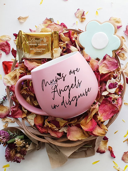 Mums are Angels in disguise mug