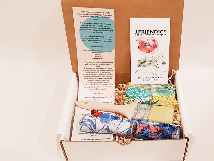 DIY Beeswax wraps box