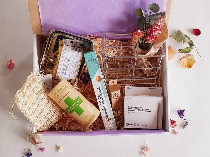 Eco Bathroom Essentials Box