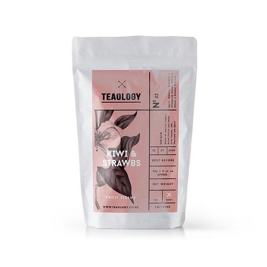 Kiwi & Strawbs tea