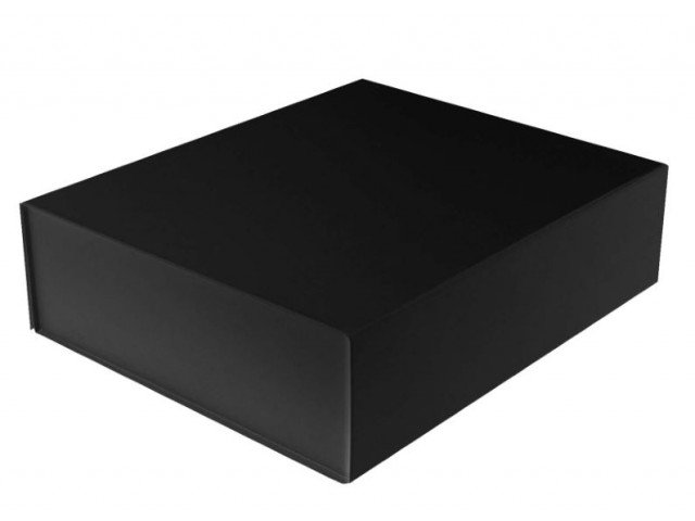 Magnetic Close Black Gift Box.