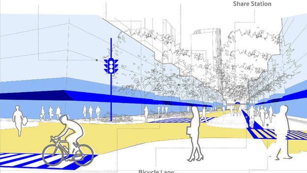 โครงการปรับปรุงภูมิทัศน์ทางเท้า (Street Design)