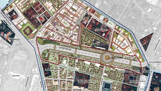 โครงการวางแผนพัฒนาพื้นที่บริเวณถนนราชดำเนินกลาง (Ratchadamnoen Klang)