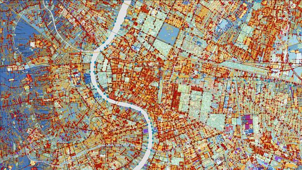 การอ่านเมืองด้วยข้อมูลเชิงพื้นที่