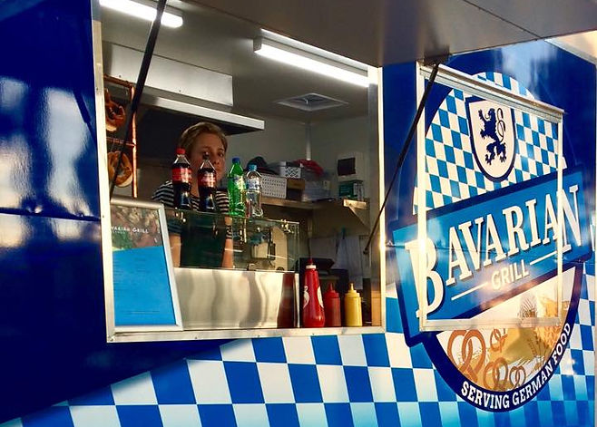 POSH markets 2018 Bavarian Grill food truck