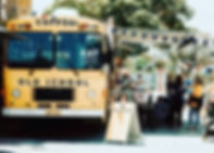 POSH markets 2018 Old School Bus food truck