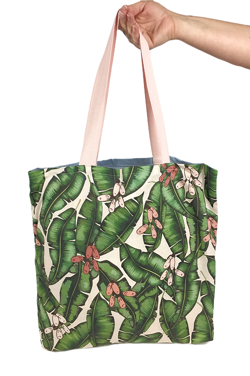 Palm Leaves Tote