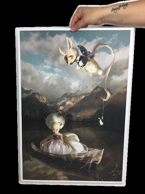 A2 Poster Print - Judy & Gabriel: An Introduction