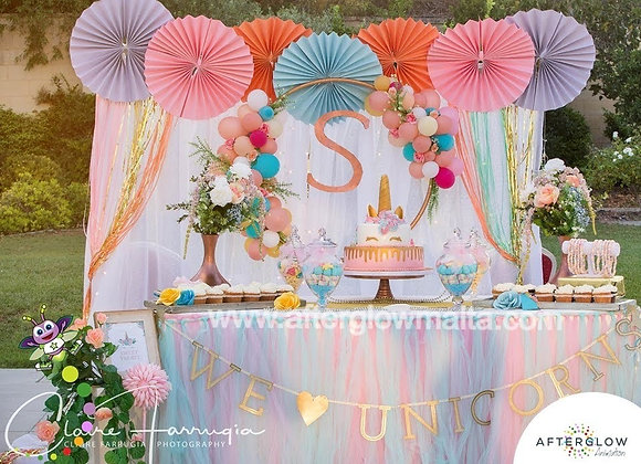 Cake Table Decoration - Hire