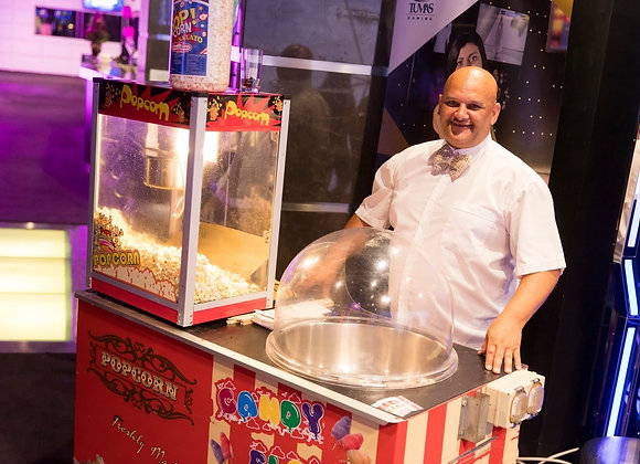 Popcorn & Candy Floss Cart - Hire
