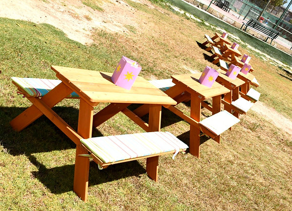 Wooden Benches - Hire