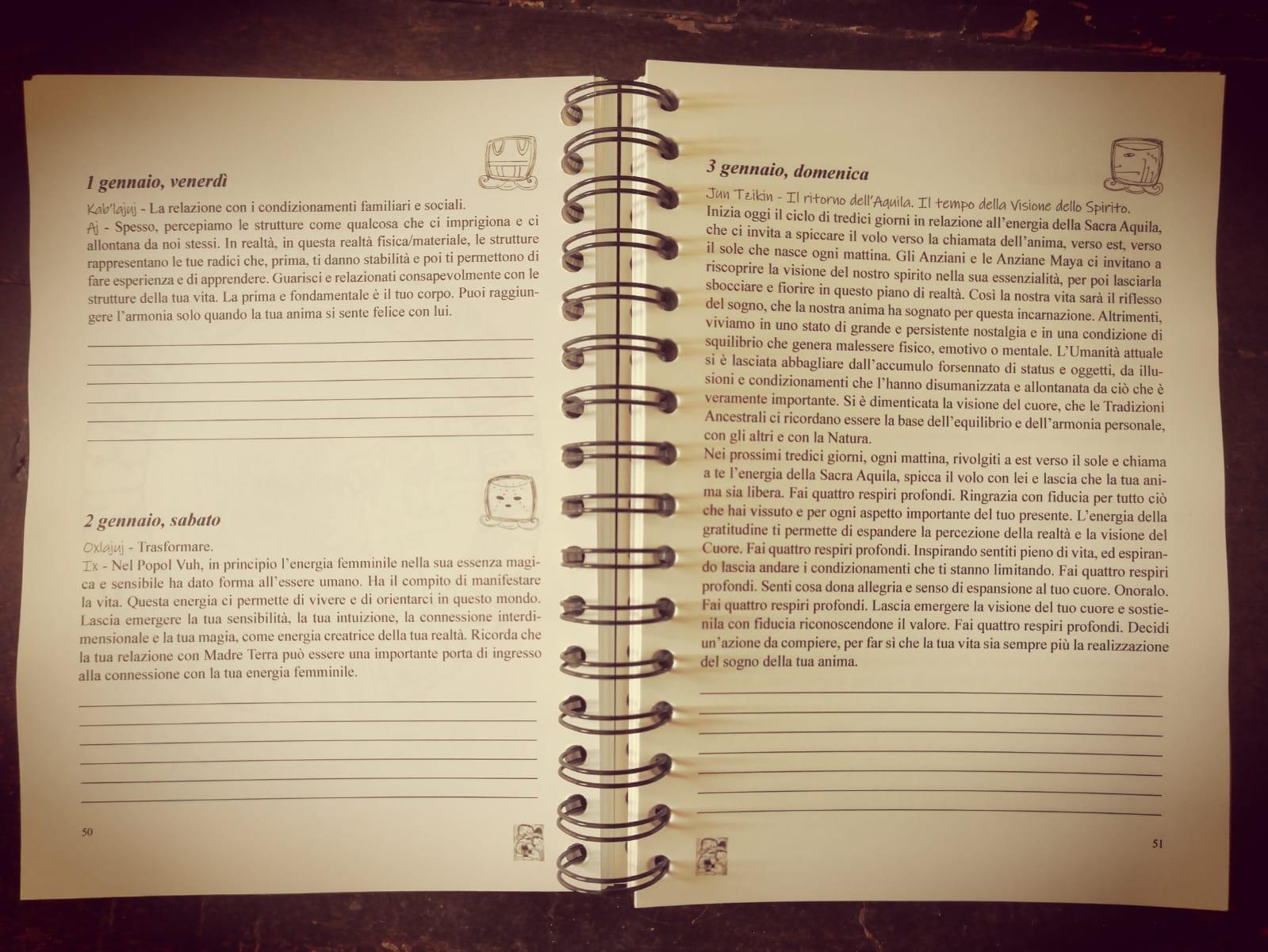 libro calendario maya 2021 2