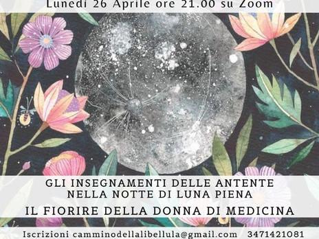 Il Fiorire della Donna di Medicina secondo la Cosmovisione Maya. Lunedì 26 aprile ore 21.00 su zoom.