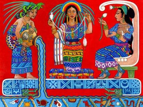 7 maggio 2020, Rituale Maya della Luna Piena dell'Elemento Acqua e Le Figlie di Madre Terra 🌕🌊🌸
