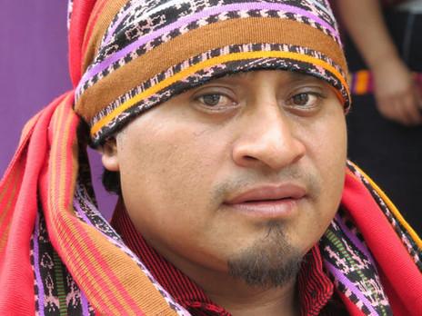 Preghiera di Juan Manuel Mendoza Mendoza, Sacerdote Maya. Marzo 2020.