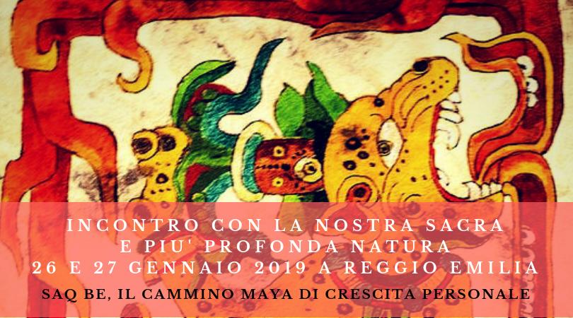 Saq' Be percorso di crescita personale Maya