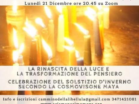 Celebrazione del Solstizio d'Inverno secondo la Cosmovisione Maya. La Rinascita della luce.