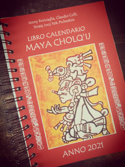 libro calendario maya 2021