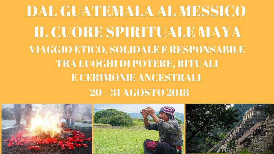 Viaggio Guatemala Messico 2018