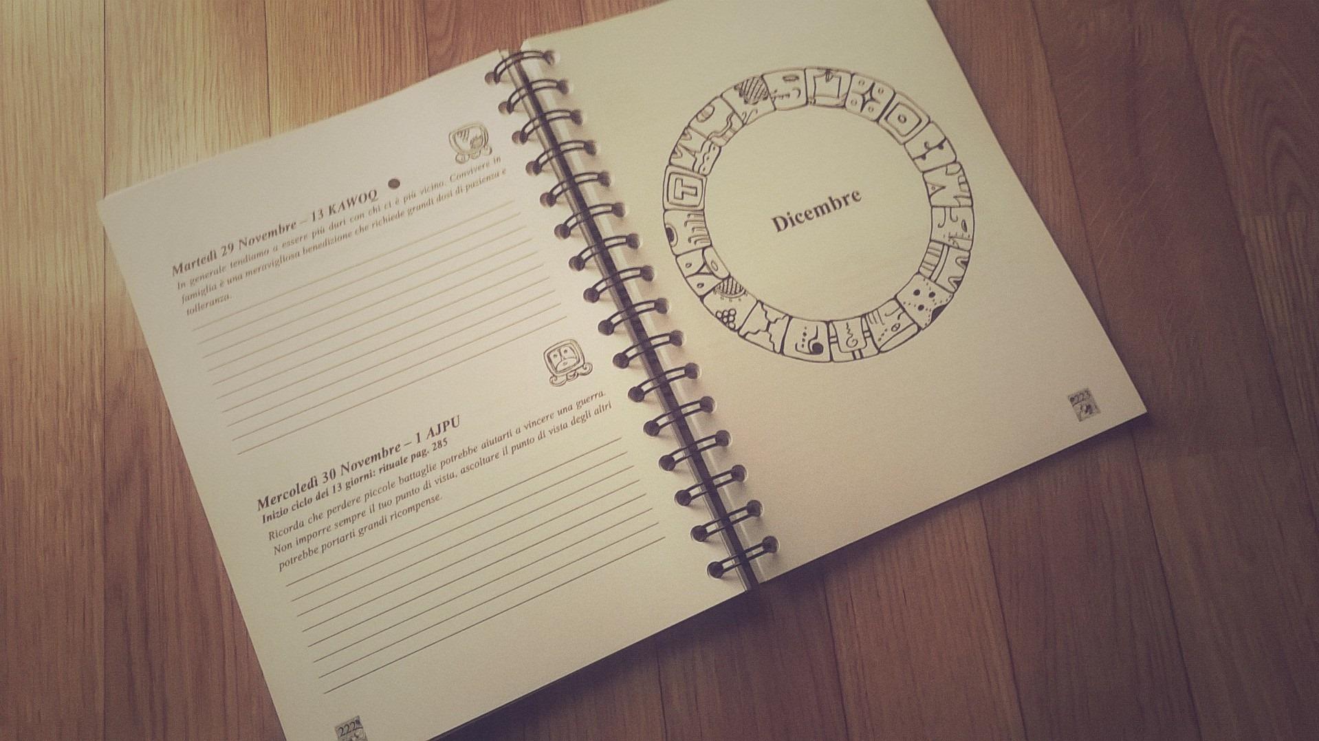 agenda calendario maya 2016 2