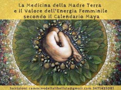 Medicina della Madre Terra e il Valore del Femminile secondo il Calendario Maya. Webinar 11 Febbraio