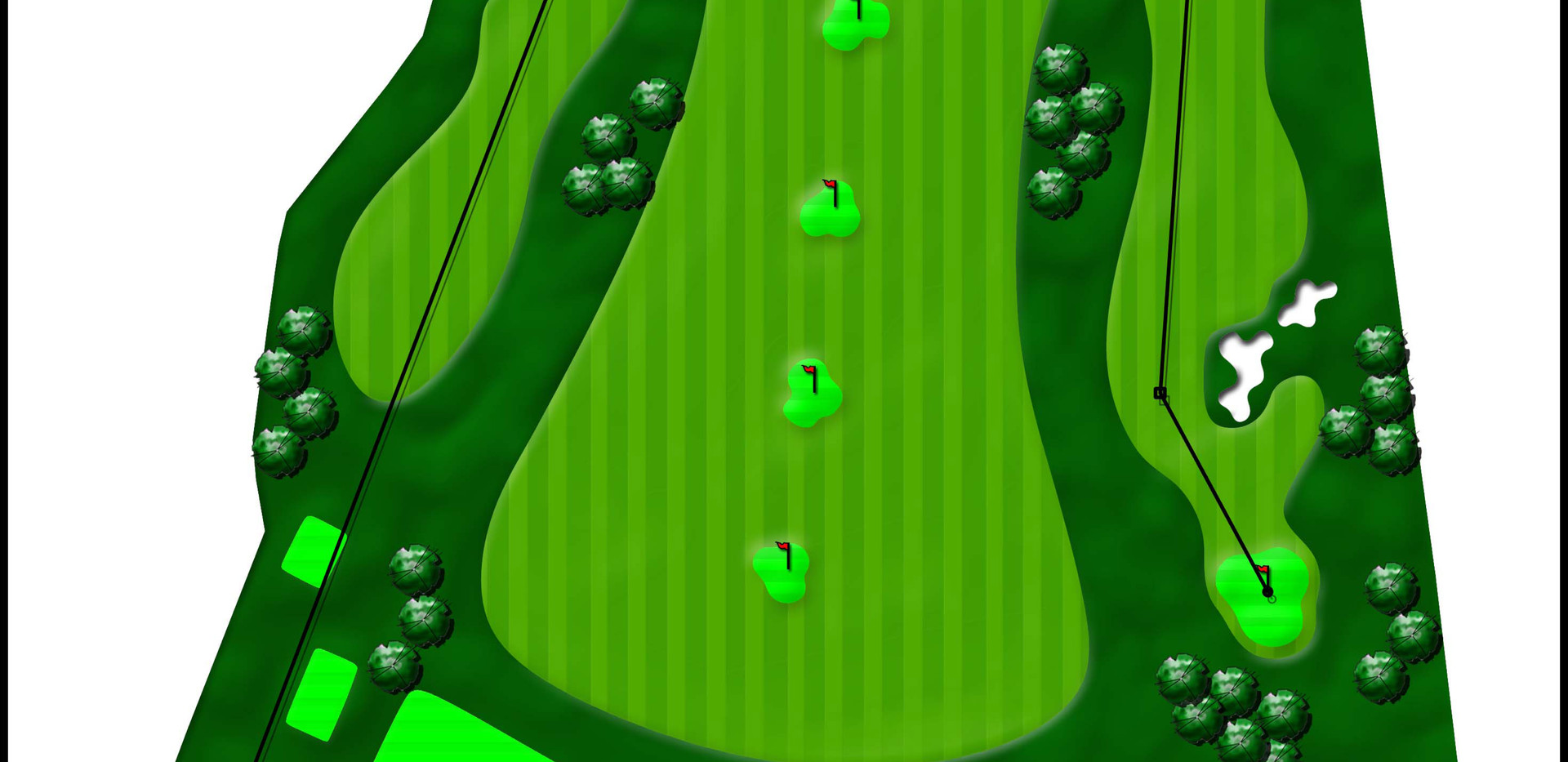 Golf Course Learning Facility colored concept