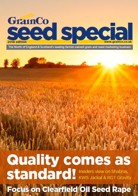 2018 Edition of the GrainCo Seed Special