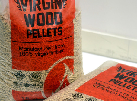 New Virgin Wood Pellets