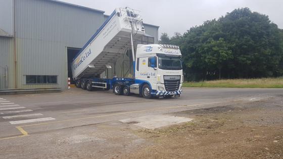KWS Cassia Winter Barley Seed arriving at GrainCo, Piercebridge
