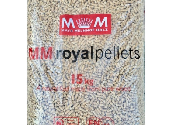 Royal Premium Wood Pellets 990kg Pallet