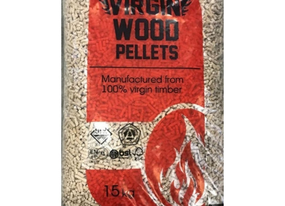 Virgin Premium Wood Pellets 750kg Pallet IMMEDIATE DISPATCH