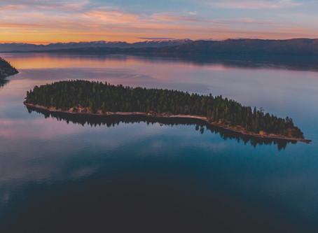 Cedar Island - An Epic Island on Flathead Lake, but Sketchy as Hell