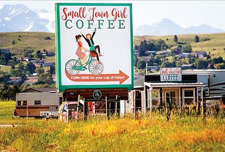 Roadside Coffee Shacks - Montana's Unique Coffee Culture