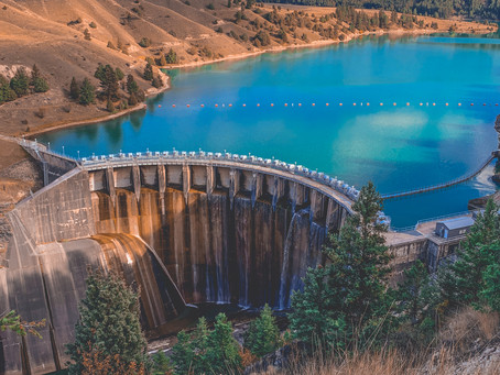 Kerr Dam - Taller Than Niagara Falls