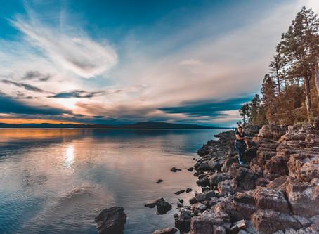 Bird Island - Camping on an Island in Flathead Lake
