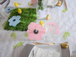 [Jolie table]: Table de Pâques