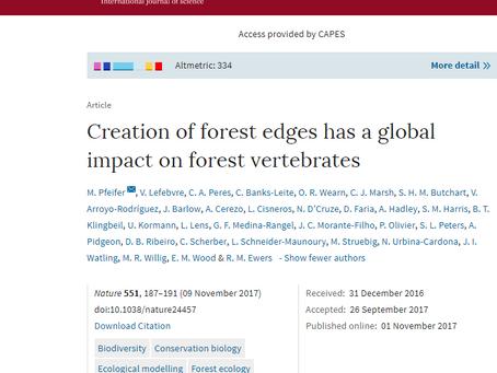 Primeira publicação de paper do PPGECB na Nature